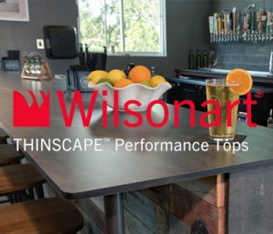Wilsonart Thinscape Tops