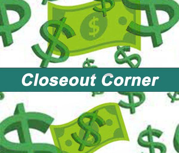 Closeout Corner